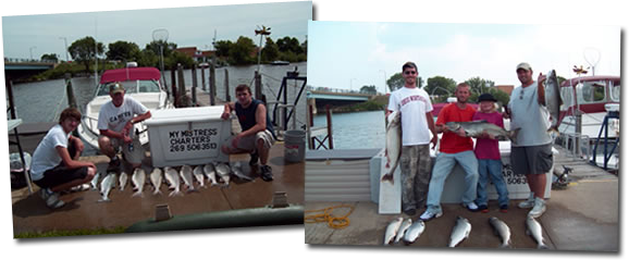 St. Joseph Michigan, Lake Fishing Charters