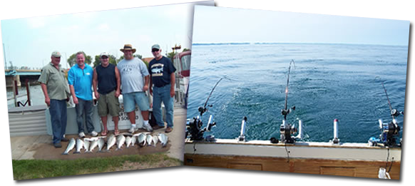 Catch the biggest trophy fish in Lake Michigan with My Mistress Fishing Charters from St. Joseph, Michigan