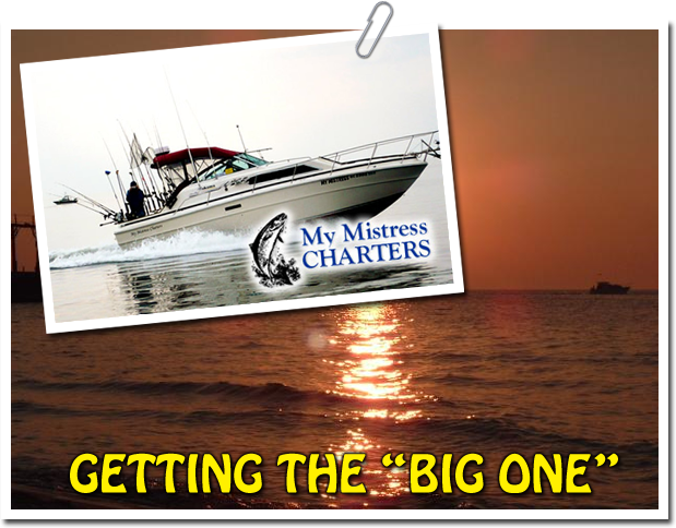My Mistress Charter Boat for Lake Michigan Game and Sport Fishing