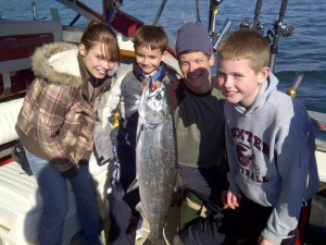 May King Salmon Fishing Charters