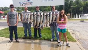 A Family fishing trip is a great way to spend a day